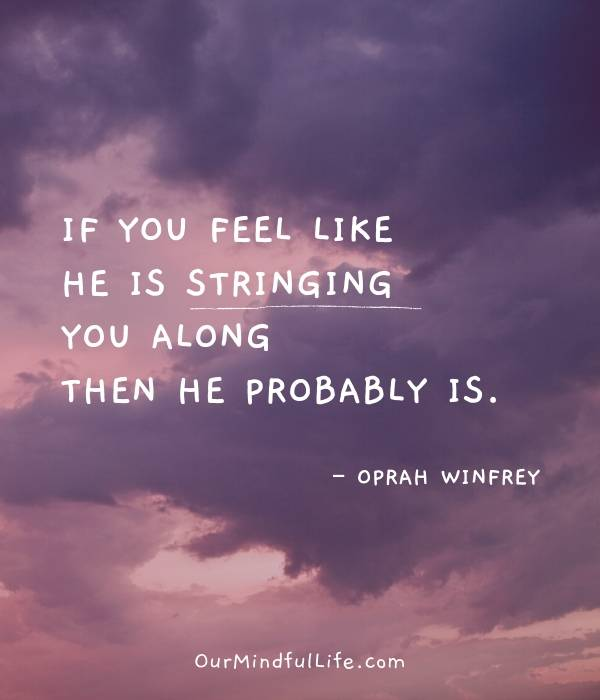 oprah dating advice