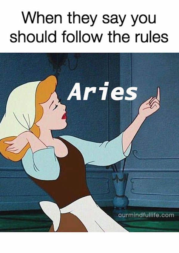26 Hilarious Aries Memes That Are Basically Aries Facts