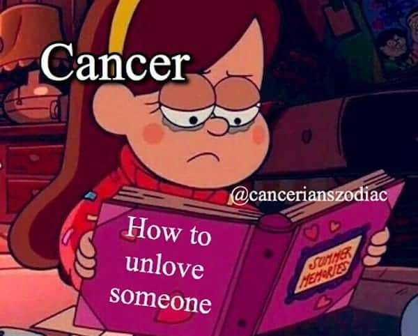 Funny Cancer Memes That Reveal The Untold Truth Of Cancerians - OurMindfulLife.com / memes about Cancer sign facts, Cancer problems and Cancer personality traits