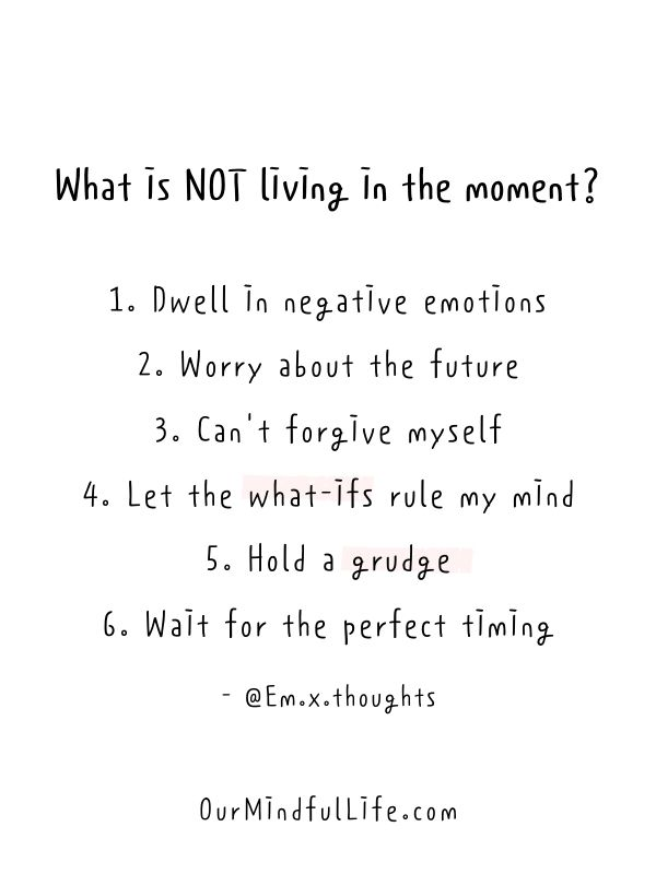 35 Live In The Moment Quotes To Embrace Life Whole Heartedly